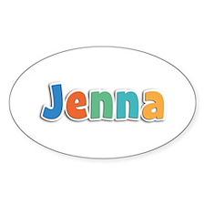 Jenna Spring11B Oval Decal