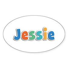Jessie Spring11B Oval Decal