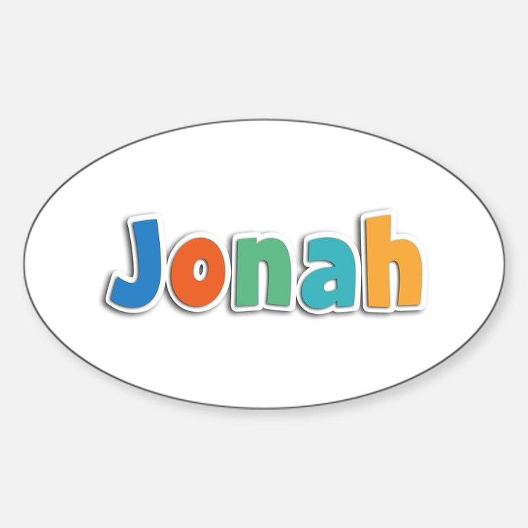 Jonah Spring11B Oval Decal