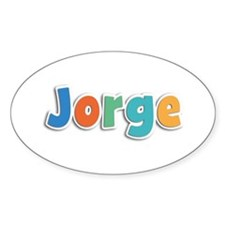 Jorge Spring11B Oval Decal