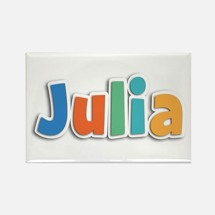 Julia Spring11B Rectangle Magnet