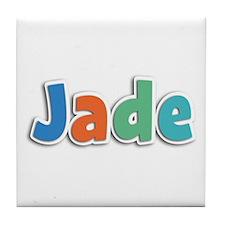Jade Spring11B Tile Coaster