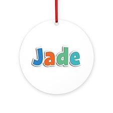 Jade Spring11B Round Ornament