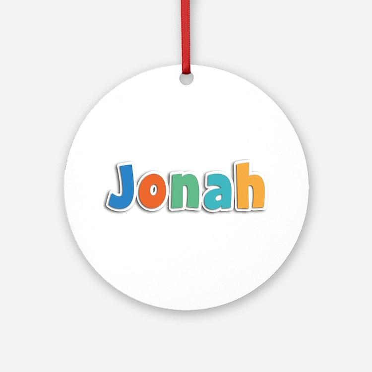Jonah Spring11B Round Ornament