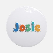 Josie Spring11B Round Ornament