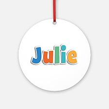 Julie Spring11B Round Ornament