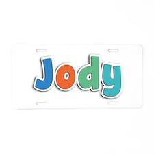 Jody Spring11B Aluminum License Plate