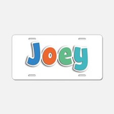 Joey Spring11B Aluminum License Plate
