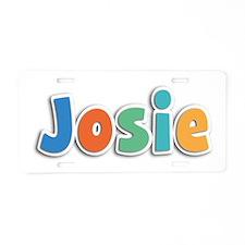 Josie Spring11B Aluminum License Plate