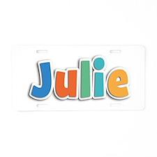 Julie Spring11B Aluminum License Plate
