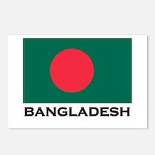 Bangladesh Flag Stuff Postcards (Package of 8)