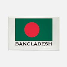 Bangladesh Flag Stuff Rectangle Magnet