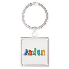 Jaden Spring11B Square Keychain