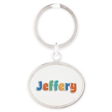 Jeffery Spring11B Oval Keychain