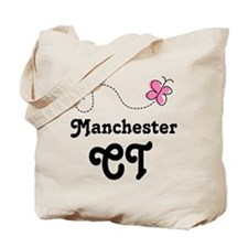 Manchester Connecticut Tote Bag