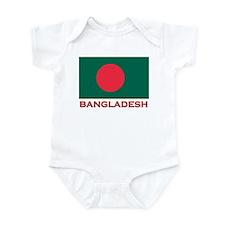 Bangladesh Flag Gear Infant Bodysuit