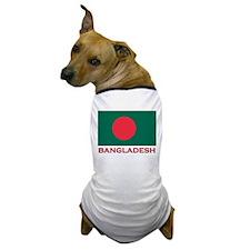 Bangladesh Flag Gear Dog T-Shirt
