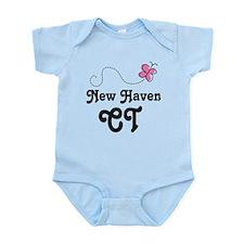 New Haven Connecticut Infant Bodysuit