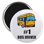 #1`BUS DRIVER Magnet