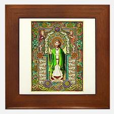 St. Patrick Framed Tile