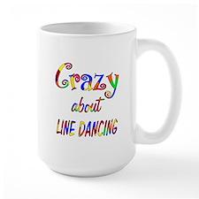 Crazy About Line Dancing Mug