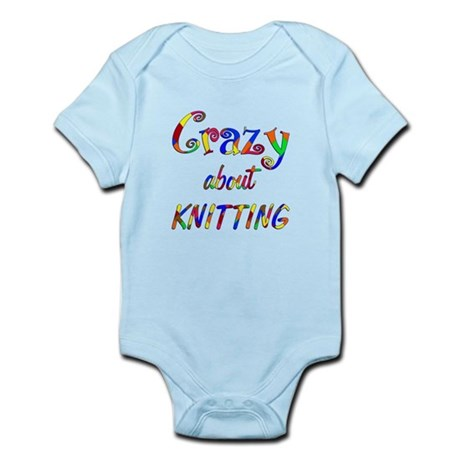 Crazy About Knitting Infant Bodysuit