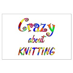 Crazy About Knitting Posters