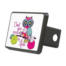 Owl you need is love Hitch Cover