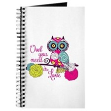 Owl you need is love Journal