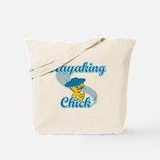 Kayaking Chick #3 Tote Bag