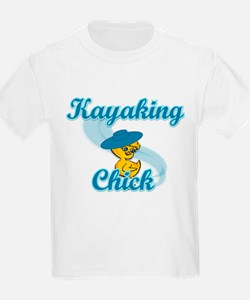 Kayaking Chick #3 T-Shirt