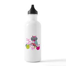 Owl you need is love Water Bottle