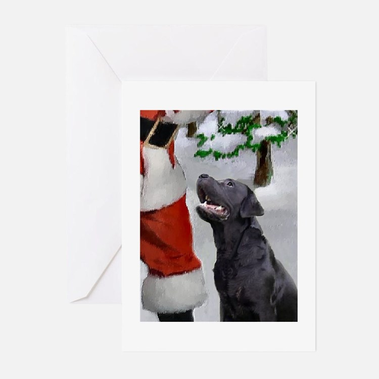 Black Lab Christmas Cards