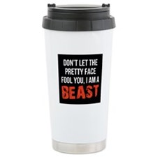 Pretty faced beast Travel Mug