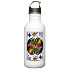 King of Diamonds Water Bottle