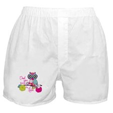 Owl you need is love Boxer Shorts