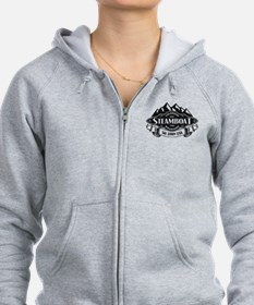 Steamboat Mountain Emblem Zip Hoodie
