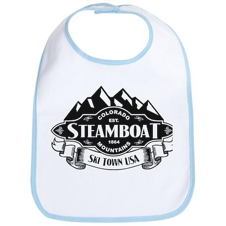 Steamboat Mountain Emblem Bib