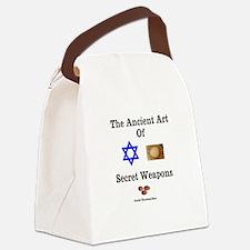 Jewish Martial Arts Canvas Lunch Bag
