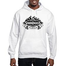 Snowmass Mountain Emblem Hoodie Sweatshirt