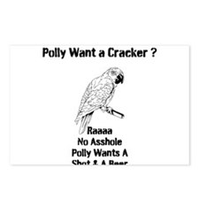 Polly Postcards (Package of 8)