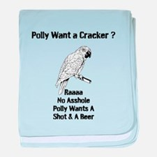 Polly baby blanket