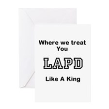 LAPD Greeting Card