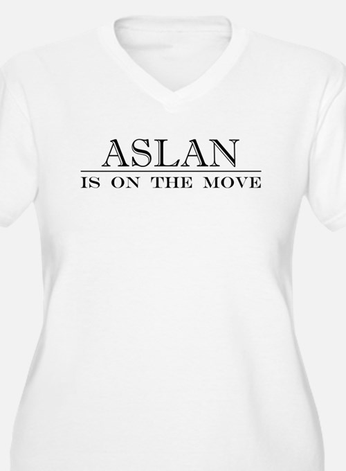 Aslan is on the move.PNG Plus Size T-Shirt