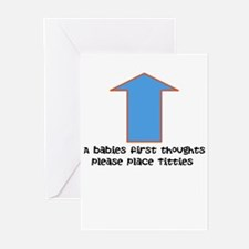 Baby food Greeting Cards (Pk of 10)