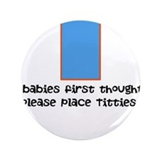 "Baby food 3.5"" Button (100 pack)"
