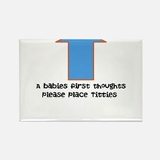 Baby food Rectangle Magnet