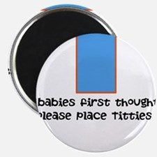 "Baby food 2.25"" Magnet (10 pack)"