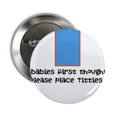 "Baby food 2.25"" Button"
