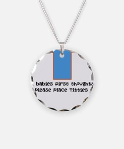 Baby food Necklace